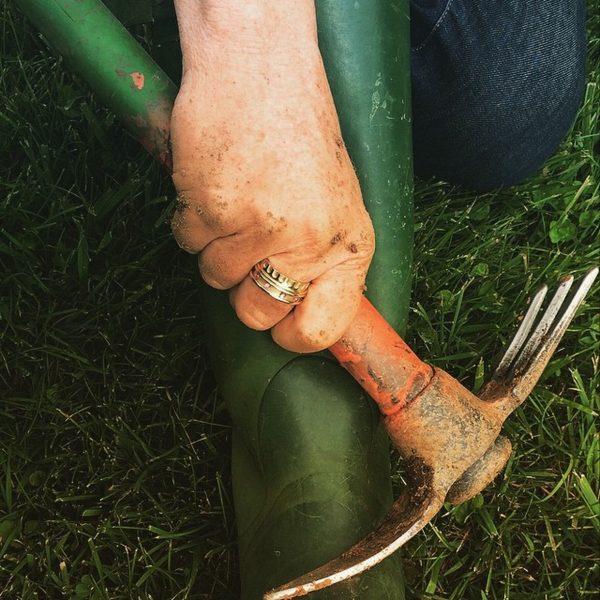 Doric Ring A La Jardiniere By Janie Kruse Garnett