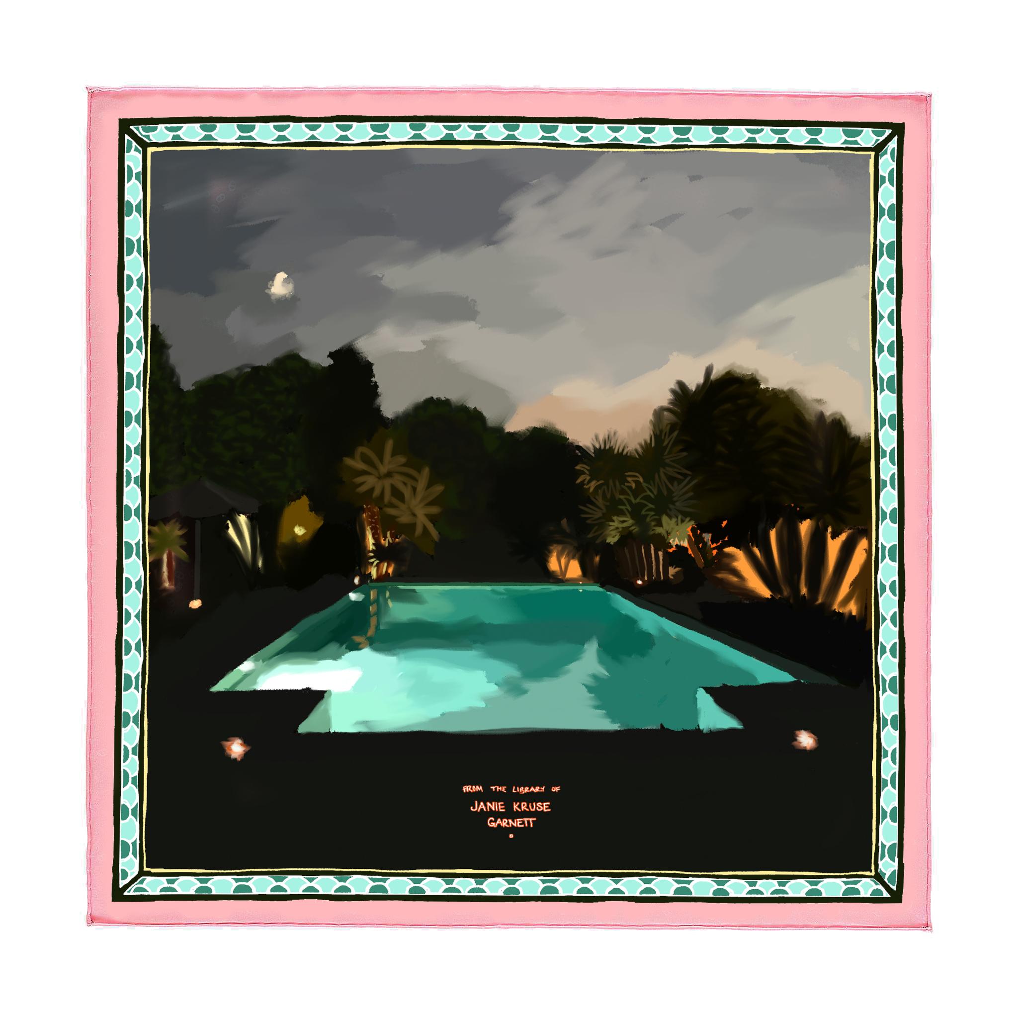 Pool At Villa Aranjaya Pochette