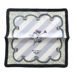 Striped Sweet Pea Pochette