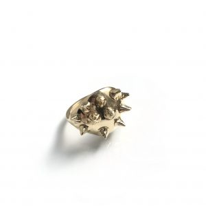 """Punk"" Signet Ring – 14k"