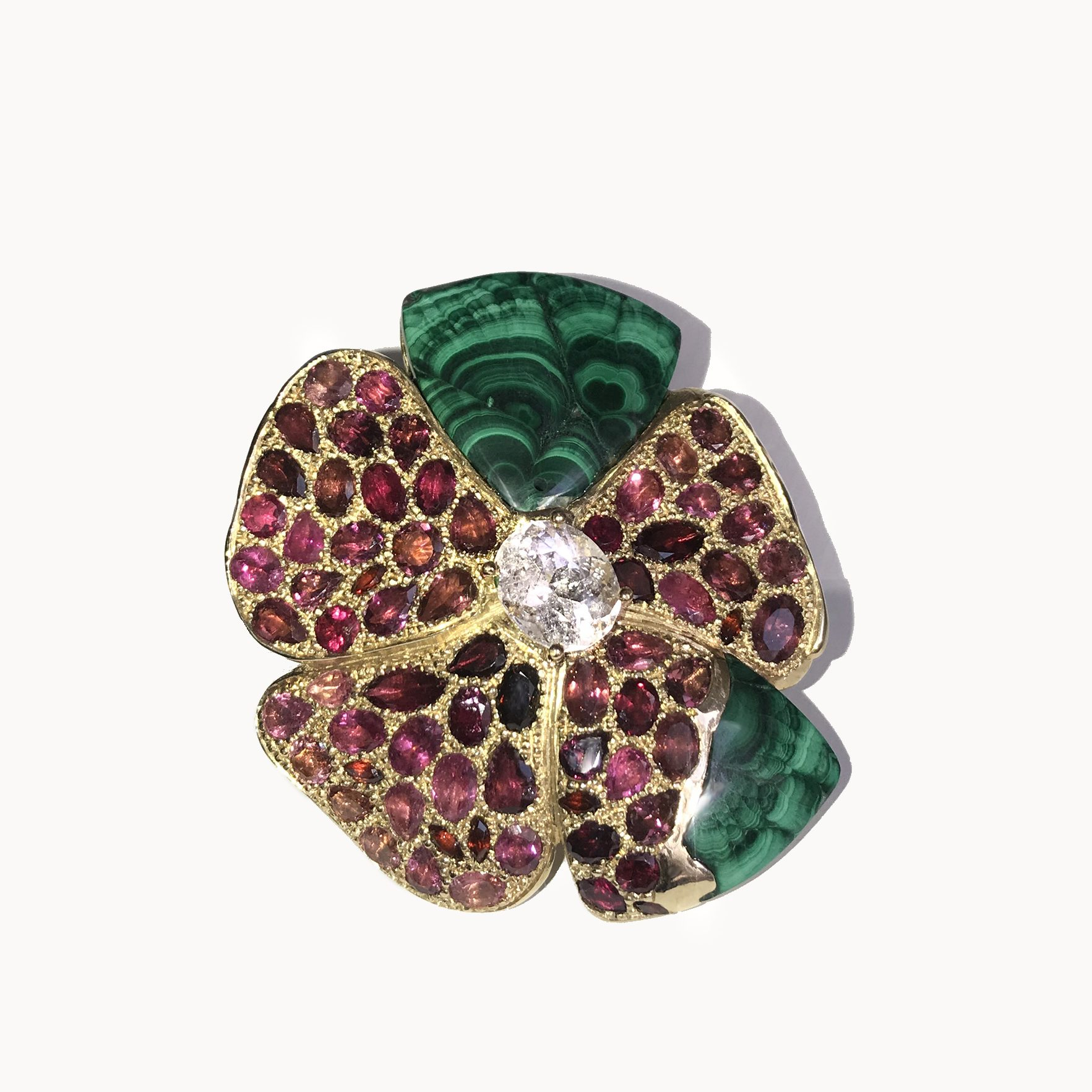 The Tudor Rose Brooch