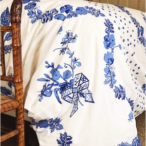 Hydrangea Blue – Bridge Street Duvet Cover