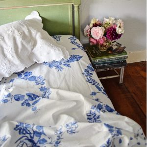 Hydrangea Blue – Bridge Street Sheet Set