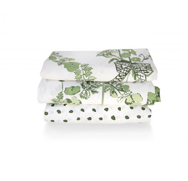 Green Linen Stack